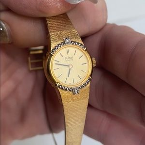 Vintage • Pulsar • quartz watch with 💎 diamond